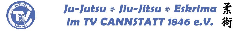 Willkommen bei der Abteilung Ju-Jutsu, Jiu-Jitsu und Eskrima des TV Cannstatt